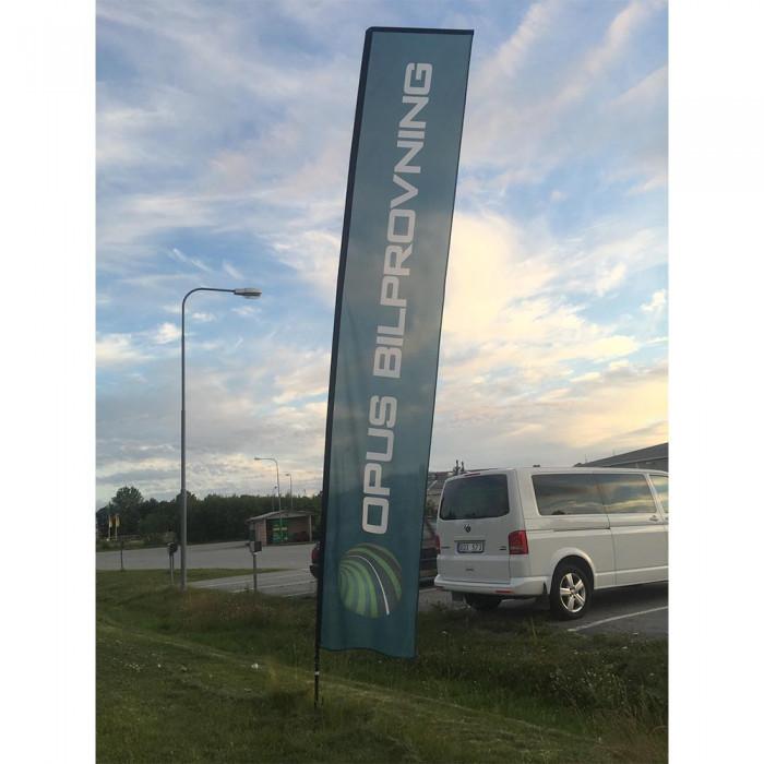 Beachflagga Standard Rak S